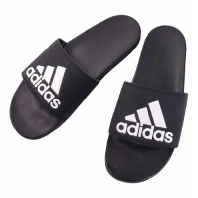 大きいサイズ メンズ adidas サンダル ADILETTE CF LOGO コアブラック 1140-9356-2 29.5 30.5 31.5