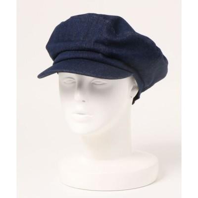 帽子 キャップ DENIM MARINE CAP デニム マリンキャップ