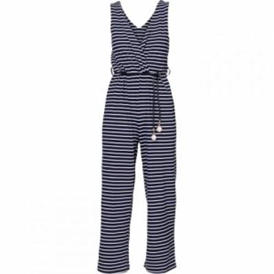 キャロライナ カブール Carolina Cavour レディース オールインワン ワンピース・ドレス Striped Jumpsuit Blue
