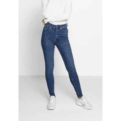 モンキ デニムパンツ レディース ボトムス OKI NEW - Jeans Skinny Fit - blue medium dusty