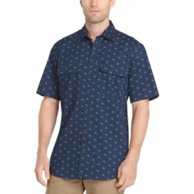 Bass バス ファッション アウター G.H. Bass Co. NEW Blue Indigo Mens Size Large L Button Down Shirt