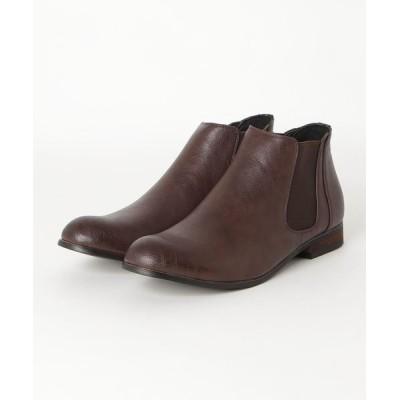 ZealMarket/SFW / 履いた時のシルエットがきれいなサイドゴアブーツ MEN シューズ > ブーツ