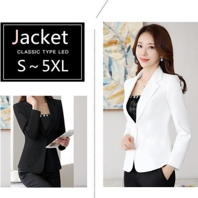 テーラードジャケットセールジャケット通勤レディースサ着やせビジネス重ね薄手スーツジャケット入学式フォーマル30代20代
