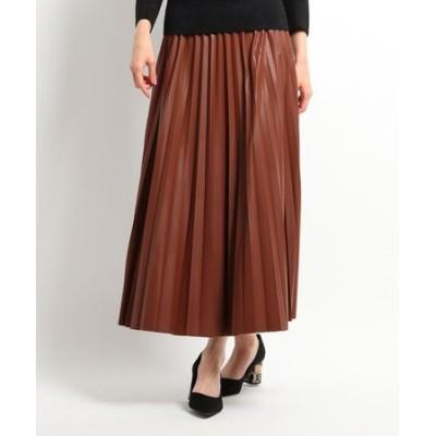 グロスプリーツスカート