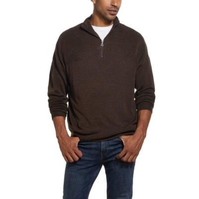 ウェザープルーフ ニット&セーター アウター メンズ Men's Soft Touch 1/4 Zip Sweater Brown Bear