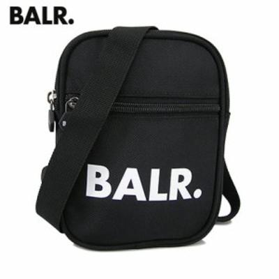 【2020春夏新作】 ボーラー/BALR. ユニセックス  ショルダーバッグ U-Series Cross Body Bag B10035 ブラック/BLACK クロスボディバッグ/