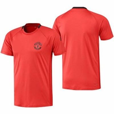 アディダス(adidas) マンチェスターユナイテッドFC UCL トレーニング ジャージー ブライトレッド/ブラック AP1042 J/L