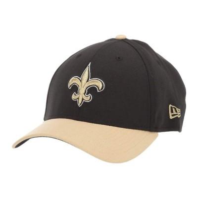 ニューエラ New Era レディース キャップ 帽子 NFL Team Classic 39THIRTY Flex Fit Cap - New Orleans Saints Black/Gold