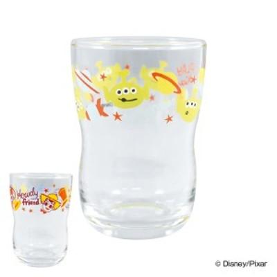 グラス 180ml トイ・ストーリー ディズニー ガラス製 コップ 食器 キャラクター ( ガラスコップ タンブラー トイストーリー ガラスのコ