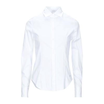 YES ZEE by ESSENZA シャツ ホワイト XS コットン 60% / ナイロン 37% / ポリウレタン 3% シャツ
