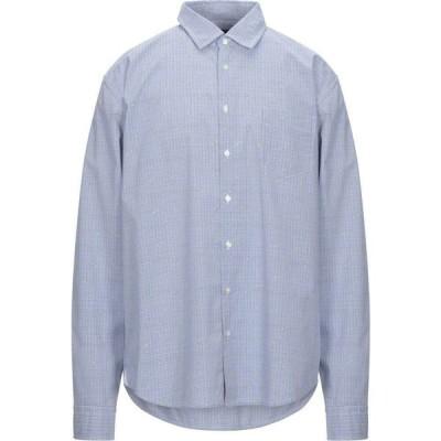 ヒューゴ ボス BOSS HUGO BOSS メンズ シャツ トップス Checked Shirt Blue