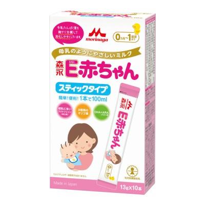 E赤ちゃん スティック 13g×10本入 食品 ミルク・粉ミルク 新生児ミルク 赤ちゃん本舗(アカチャンホンポ)