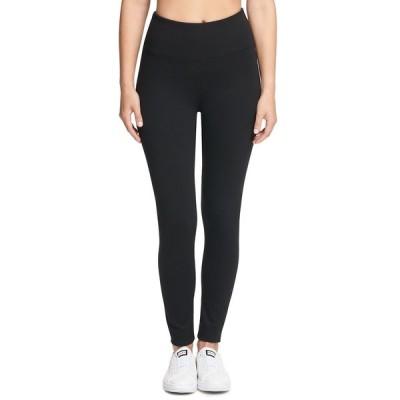ダナ キャラン ニューヨーク カジュアルパンツ ボトムス レディース Sport Tummy-Control Compression Leggings Black