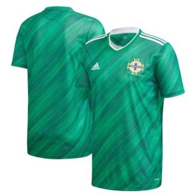アディダス メンズ Tシャツ トップス Northern Ireland National Team adidas 2020/21 Home Federation Replica Jersey Green