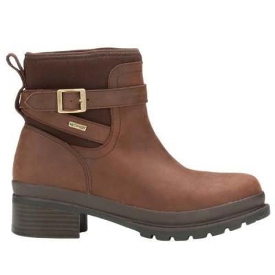 マックブーツ レディース ブーツ・レインブーツ シューズ Liberty Ankle Leather Boots