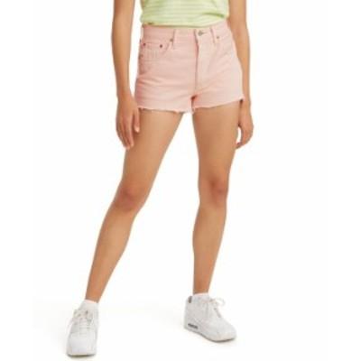 リーバイス レディース ハーフパンツ・ショーツ ボトムス Women's 501 Cotton High-Rise Denim Shorts Youre A Peach