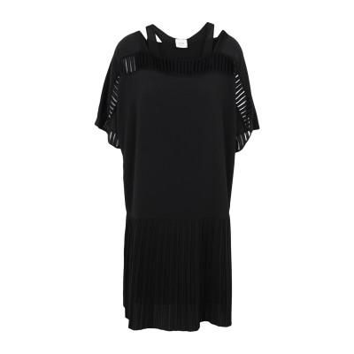 アリジ ALYSI ミニワンピース&ドレス ブラック 40 ポリエステル 94% / ポリウレタン 6% ミニワンピース&ドレス