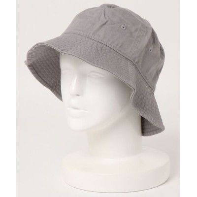 UNBILLION / ニューハッタン newhattan / STONE WASHED LONGVISER BUCKET-1507 WOMEN 帽子 > ハット