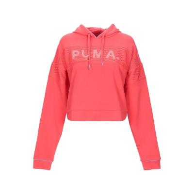 プーマ PUMA スウェットシャツ レッド L コットン 67% / ポリエステル 26% / ポリウレタン 7% スウェットシャツ