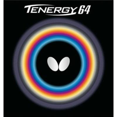 Butterfly(バタフライ) 卓球 ガツト・ラバー テナジー・64 メンズ・レディース 【レッド】 05820 006