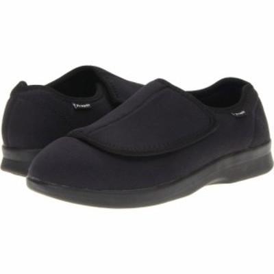 プロペット Propet メンズ スリッパ シューズ・靴 Cush n Foot Medicare/HCPCS Code = A5500 Diabetic Shoe Black