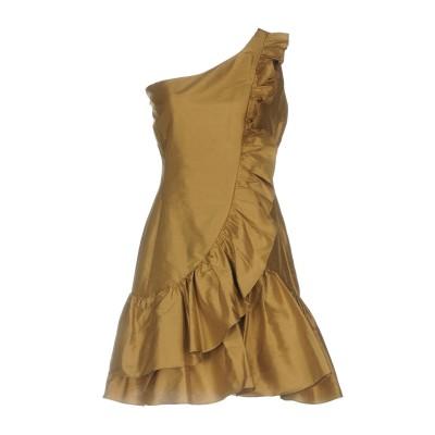 ツインセット シモーナ バルビエリ TWINSET ミニワンピース&ドレス サンド 46 100% シルク ミニワンピース&ドレス