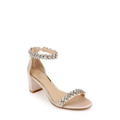 バッジェリー ミシュカ Jewel Badgley Mischka レディース サンダル・ミュール シューズ・靴 Bronwen Sandals Champagne