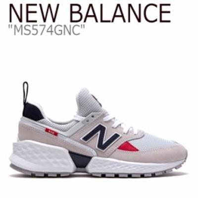 ニューバランス 574 スニーカー New Balance メンズ レディース MS 574 GNC New Balance574 ホワイト ネイビー MS574GNC シューズ