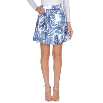 GAeLLE Paris ミニスカート  レディースファッション  ボトムス  スカート  ロング、マキシ丈スカート ホワイト