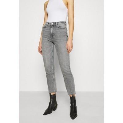 オンリー デニムパンツ レディース ボトムス ONLEMILY LIFE - Straight leg jeans - grey denim
