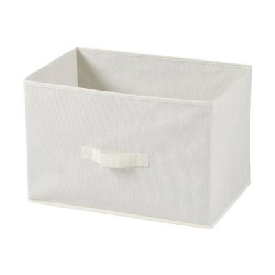 不二貿易 不織布製 インナー ボックス 横型 アイボリー 78439