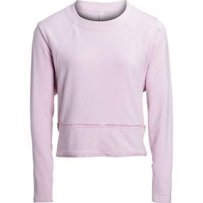 フリーピープル Free People FP Movement レディース スウェット・トレーナー トップス Where The Wind Blows Sweatshirt Lavender