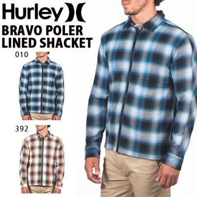 30%off 長袖 シャツ ジャケット HURLEY ハーレー メンズ BRAVO POLER LINED SHACKET ボタンダウンシャツ 2020秋冬新作