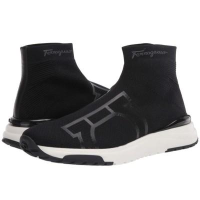 サルヴァトーレ フェラガモ Salvatore Ferragamo メンズ スニーカー シューズ・靴 Soft Sneaker Black