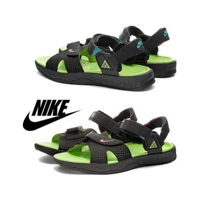 ナイキ Nike ACG Air Deschutz / Black&Pink&Green / 取寄品