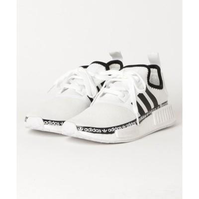 スニーカー adidas アディダス FV8727 NMD R1 FWWT/CBLK/FWWT