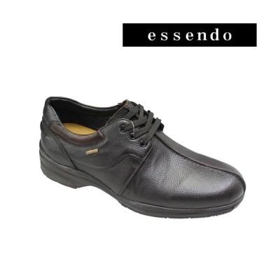 マドラスウォーク GORE-TEXフットウェア搭載 幅広カジュアルシューズ SPMW5922 ダークブラウン メンズ 靴