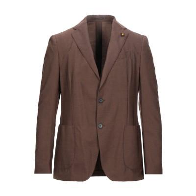 ラルディーニ LARDINI テーラードジャケット ココア 50 ウール 60% / 指定外繊維(テンセル)® 40% テーラードジャケット