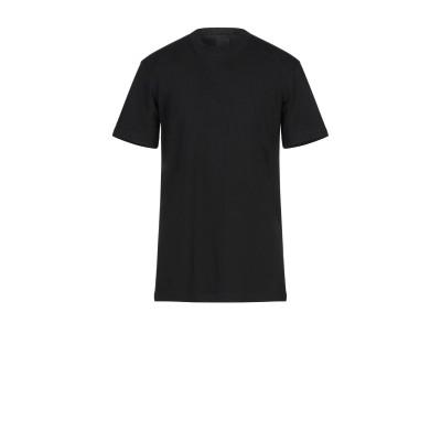 DBYD x YOOX T シャツ ブラック 46 コットン 100% T シャツ