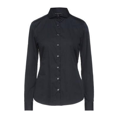 ブライアン デールズ BRIAN DALES シャツ ブラック 40 コットン 80% / ナイロン 15% / ポリウレタン 5% シャツ