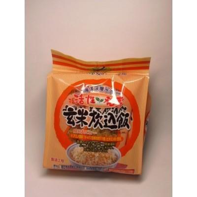 活性発芽玄米炊無料飯40g×10P×10個室戸海洋深層水使用