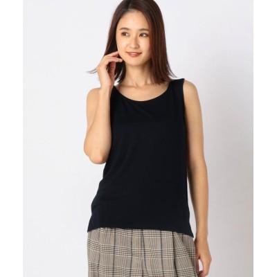 【ミューズ リファインド クローズ】 ヒートウォームタンクトップ レディース ネイビー L MEW'S REFINED CLOTHES
