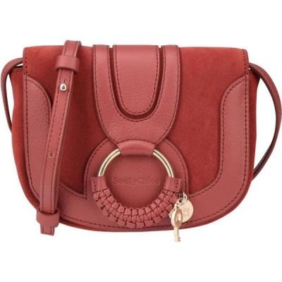 クロエ SEE BY CHLOE レディース ショルダーバッグ バッグ hana mini crossbody bag Brick red