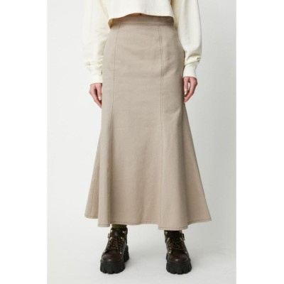 (moussy/マウジー)STITCH MERMAID スカート/レディース L/GRY1