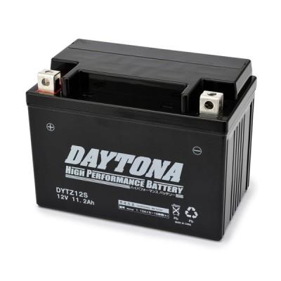 DAYTONA:デイトナ DAYTONA ハイパフォーマンスバッテリー 液入り充電済 【DYTZ12S】