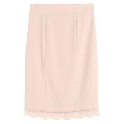 ブルマリン BLUMARINE ひざ丈スカート ペールピンク 38 ポリエステル 95% / ポリウレタン 5% ひざ丈スカート