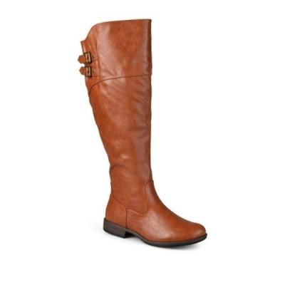 ジャーニーコレクション レディース ブーツ&レインブーツ シューズ Tori Riding Boot - Extra Wide Calf CHESTNUT