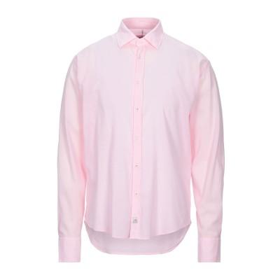 PANAMA シャツ ライトピンク M コットン 96% / ポリウレタン 4% シャツ