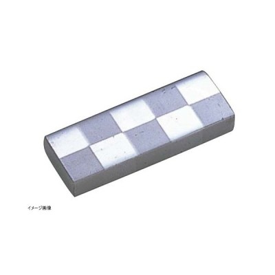 【三宝産業】UK 18-8 箸置 角(市松模様) ステンレス
