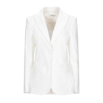 NINA 14.7 テーラードジャケット ホワイト 46 コットン 73% / ポリエステル 24% / ポリウレタン 3% テーラードジャケット